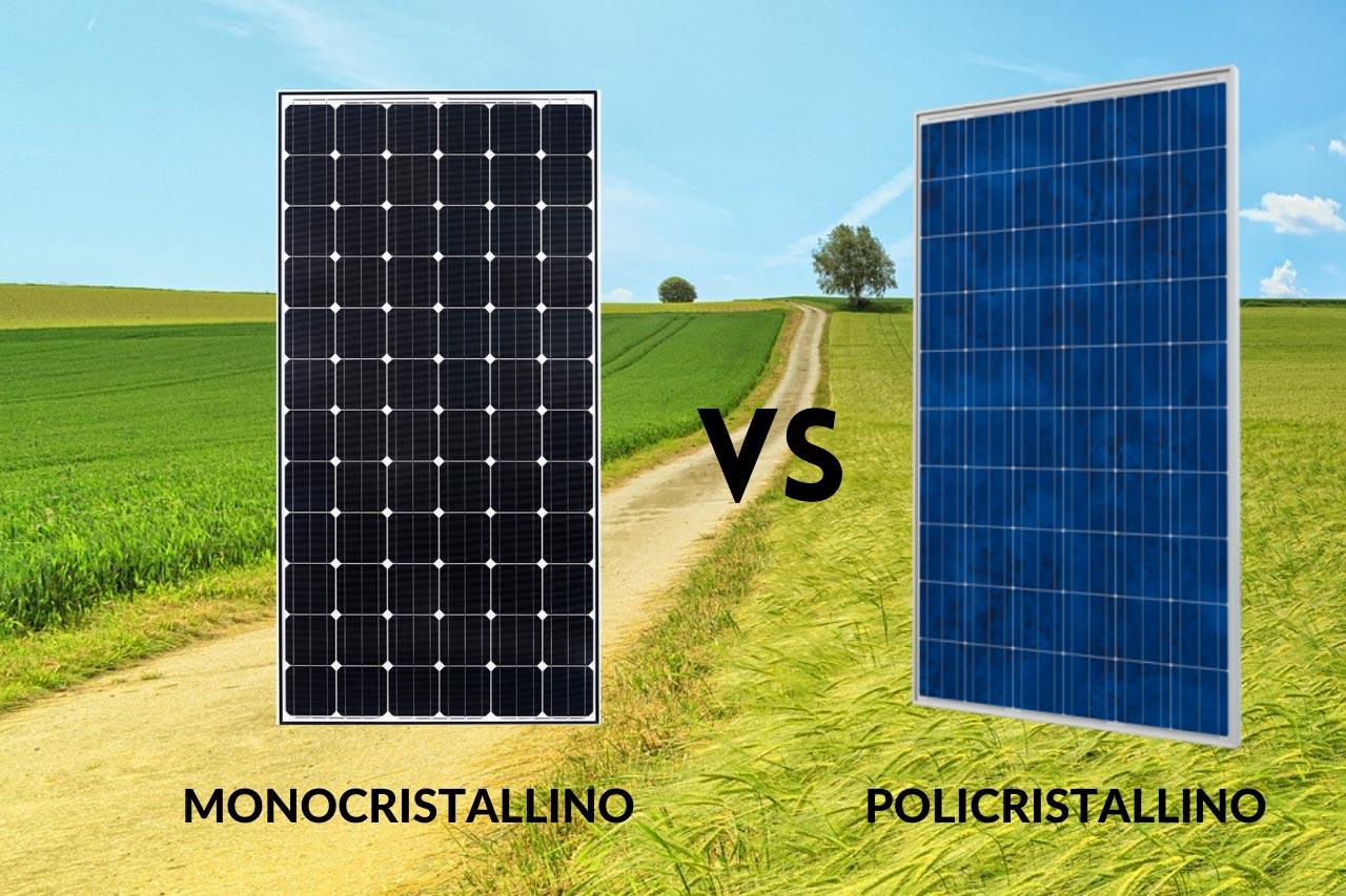 Distinguere le tipologie di pannelli fotovoltaici